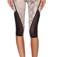 SOLOW Legging with Binding in Tan