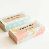 20 SOAP FAVORS - Wedding, Baby Shower, Kitchen Tea, Save the Date - Natural, Handmade, Cold Processed, Vegan Soap