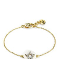 Gold Pave Star Wish Bracelet by Juicy Couture, O/S