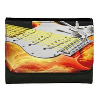 Electric Guitar Art 2 Wallet