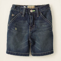 baby boy - shorts - denim carpenter shorts | Children's Clothing | Kids Clothes | The Children's Place