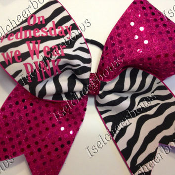 3 inch custom cheer bows