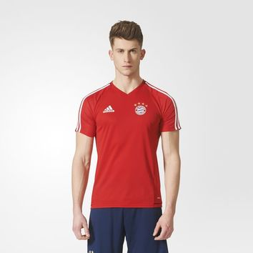 adidas FC Bayern Authentic Training Jersey - Red | adidas UK