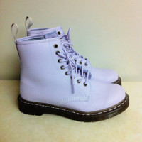 ON SALE rare lilac lavender purple Doc Martens UK6 US8 pastel