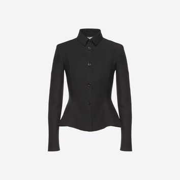 Crepe Couture Jacket for Woman | Valentino Online Boutique