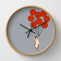 I Believe I Can Fly Wall Clock by Huebucket