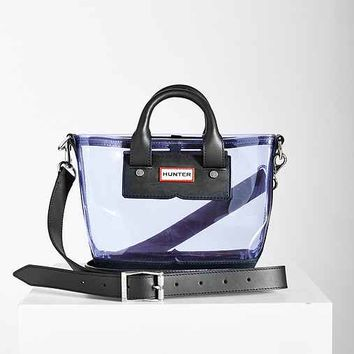 Hunter Original Clear Mini Tote Bag- Lavender One