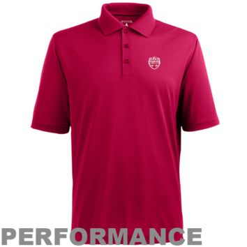 Antigua Alabama Crimson Tide 2012 BCS National Champions Back-to-Back Champions Xtra-Lite Pique Performance Polo - Crimson - http://www.shareasale.com/m-pr.cfm?merchantID=7124&userID=1042934&productID=555870487 / Alabama Crimson Tide