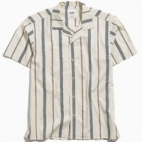 Katin Kai Stripe Short Sleeve Button-Down Shirt | Urban Outfitters