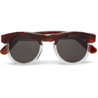 Illesteva Harrison Two-Tone Acetate Sunglasses | MR PORTER