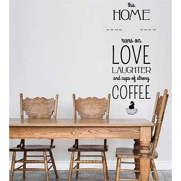Large Wall Decal Motivation Phrase in Vintage Typographic Style Vinyl Sticker (n1023)
