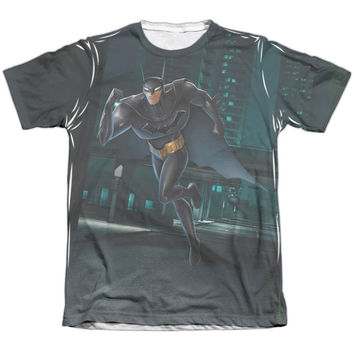 BEWARE THE BATMAN/RUN 3D PRINT DESIGNER TEE T-SHIRT