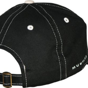 Ford Mustang Black Baseball Hat w/ Grey Stitching