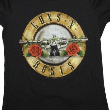 Womens Guns N Roses Official T-Shirt
