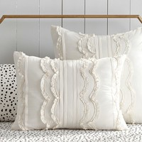 The Emily & Meritt Pretty Placket Duvet Cover + Sham