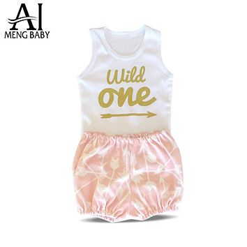 Girl Clothes Infant Clothing Sets Little Girl Suit Outfit Toddler Newborn Baby Costume Baby Gift