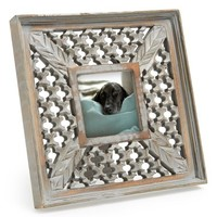Era Home Honeycomb Wood Frame , Size 4x4 - Grey (4x4)