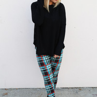 Holiday Plaid Leggings