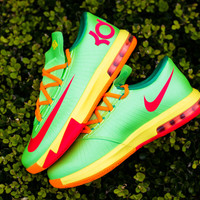Nike KD VI GS - Flash Lime - Sneaker Politics