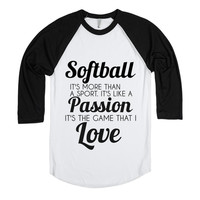 softball: the game that i love