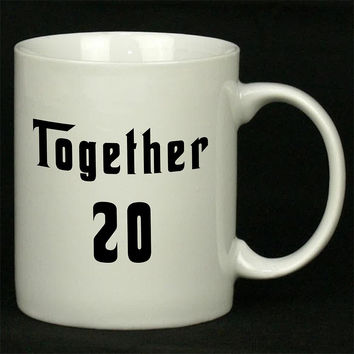 Together Since For Ceramic Mugs Coffee *