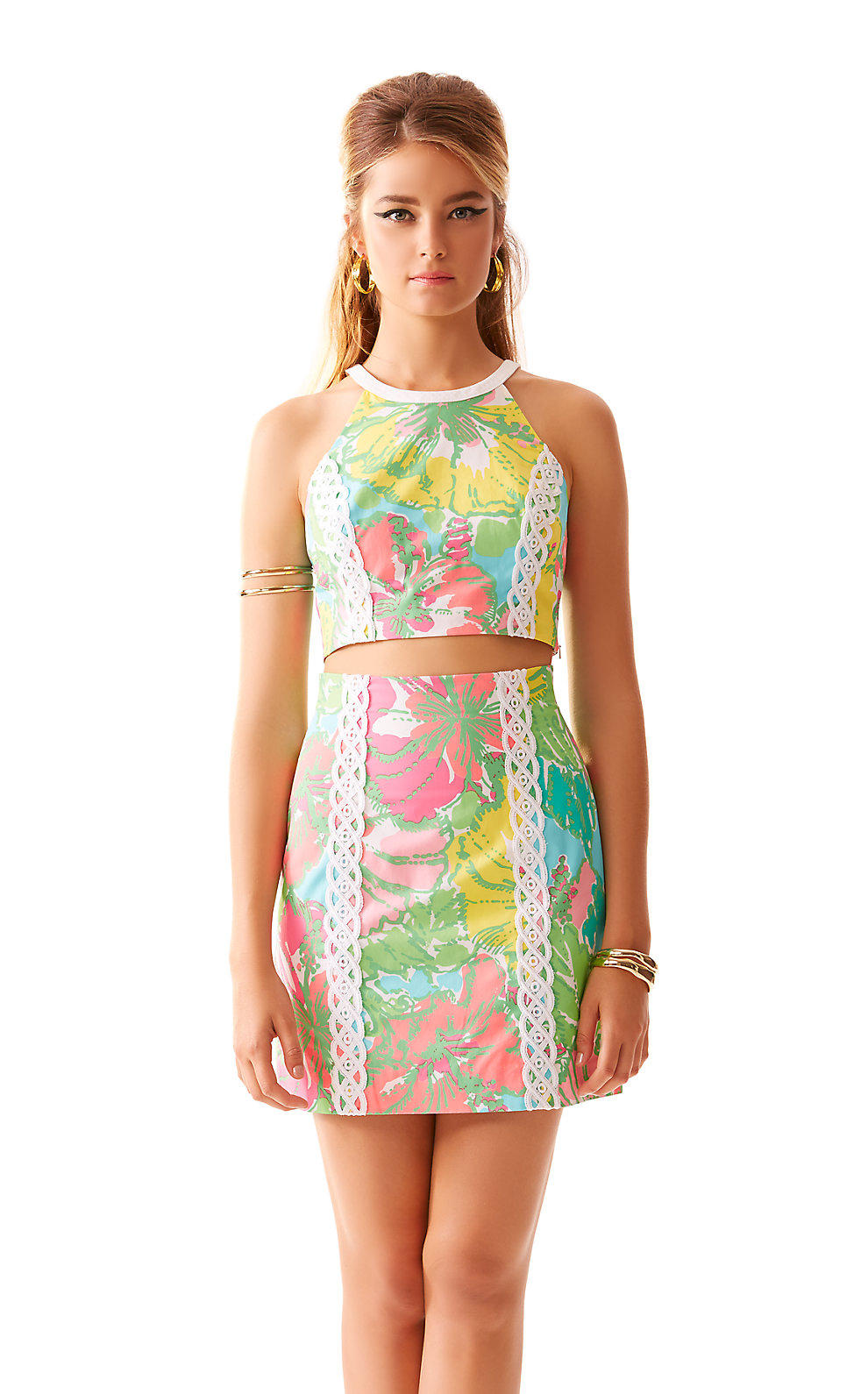 Lilly Pulitzer Vanna Crop Top & Skirt Set from Lilly Pulitzer