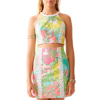 Lilly Pulitzer Vanna Crop Top & Skirt Set