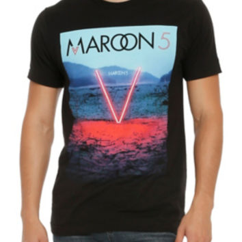 Maroon 5 V Album Art T-Shirt