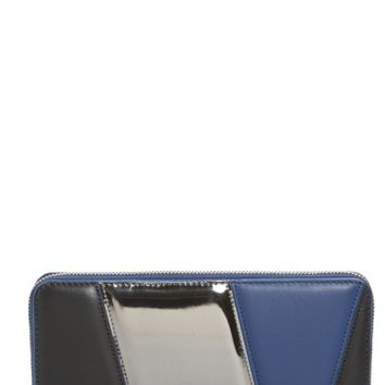 Diane von Furstenberg Colorblock Leather Continental Wallet | Nordstrom