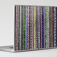 Black Pattern Laptop & iPad Skin by Romi Vega | Society6