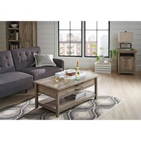 Better Homes and Gardens Modern Farmhouse Lift-Top Coffee Table, Rustic Gray Finish - Walmart.com