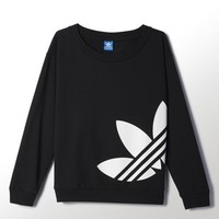 Adidas Originals Women's Light Logo Sweater ALL SIZES FREE SHIPPING S19812