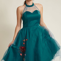 Fancy Flair Fit and Flare Dress