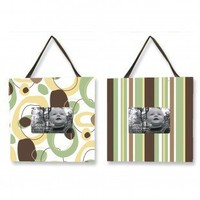 Trend Lab Giggles Two Piece Picture Frame Set - 101502 - Decor