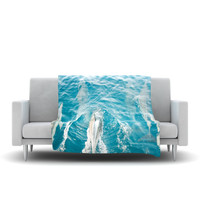 "Bree Madden ""Dolphins"" Fleece Throw Blanket"