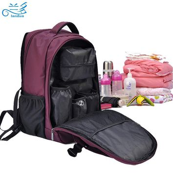Multifunctional baby nappy bag, baby diaper bag mummy maternity diaper handbag