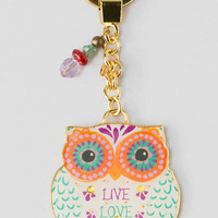 Live Love Laugh Owl Keychain
