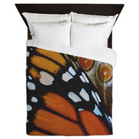 Butterfly Duvet - Monarch Butterfly - Woodland Decor - Rustic Decor - Nature Decor - Farmhouse Chic - Monarch Duvet Cover - Country Decor