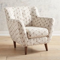 Mitzi Shibori Sand Chair