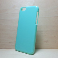 Hard plastic case for iphone 5c - Mint Green