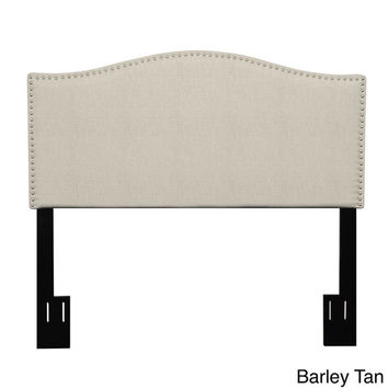 Handy Living Lucca King/ California King Upholstered Crescent Shaped Headboard | Overstock.com Shopping - The Best Deals on Headboards