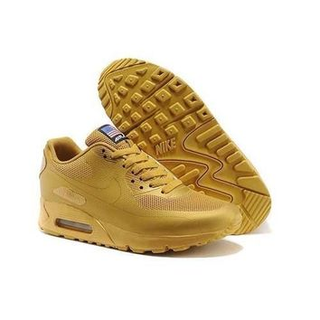 men s women s nike air max 90 american flag shoes gold  number 1