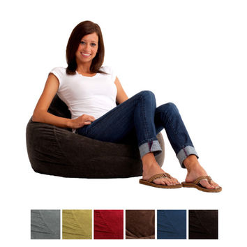 BeanSack Big Joe Ultra Dorm Lounger Bean Bag Chair | Overstock.com Shopping - The Best Deals on Bean Bag Chairs
