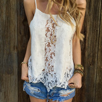 Charlotte Lace Top - FINAL SALE