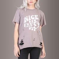 NICE BASS Destroyed Tee
