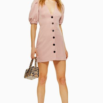 Button Down Mini Dress | Topshop