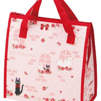 Kiki Delivery Service Design Reusable Bento Box Lunch Bag with Thermal Linning