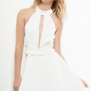 DailyLook: Cameo Breaking Hearts Dress in Ivory XS