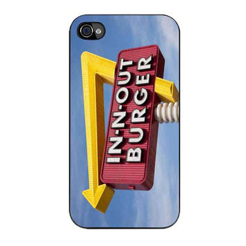 in n out burger funny iPhone 4 4s 5 5s 5c 6 6s plus cases