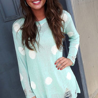 Mint + Dots Tunic | The Rage